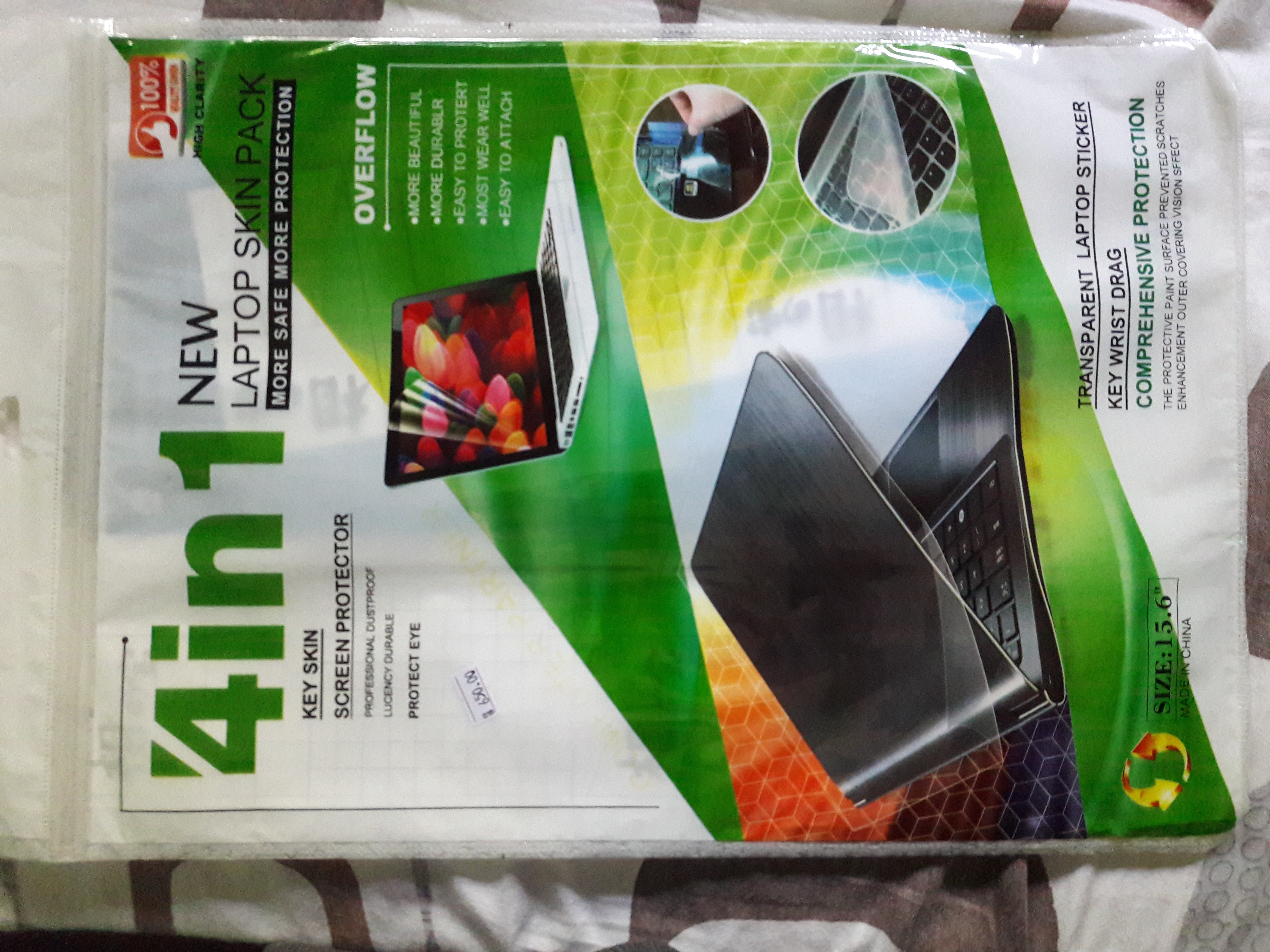Laptop Screen Protector 4 in 1