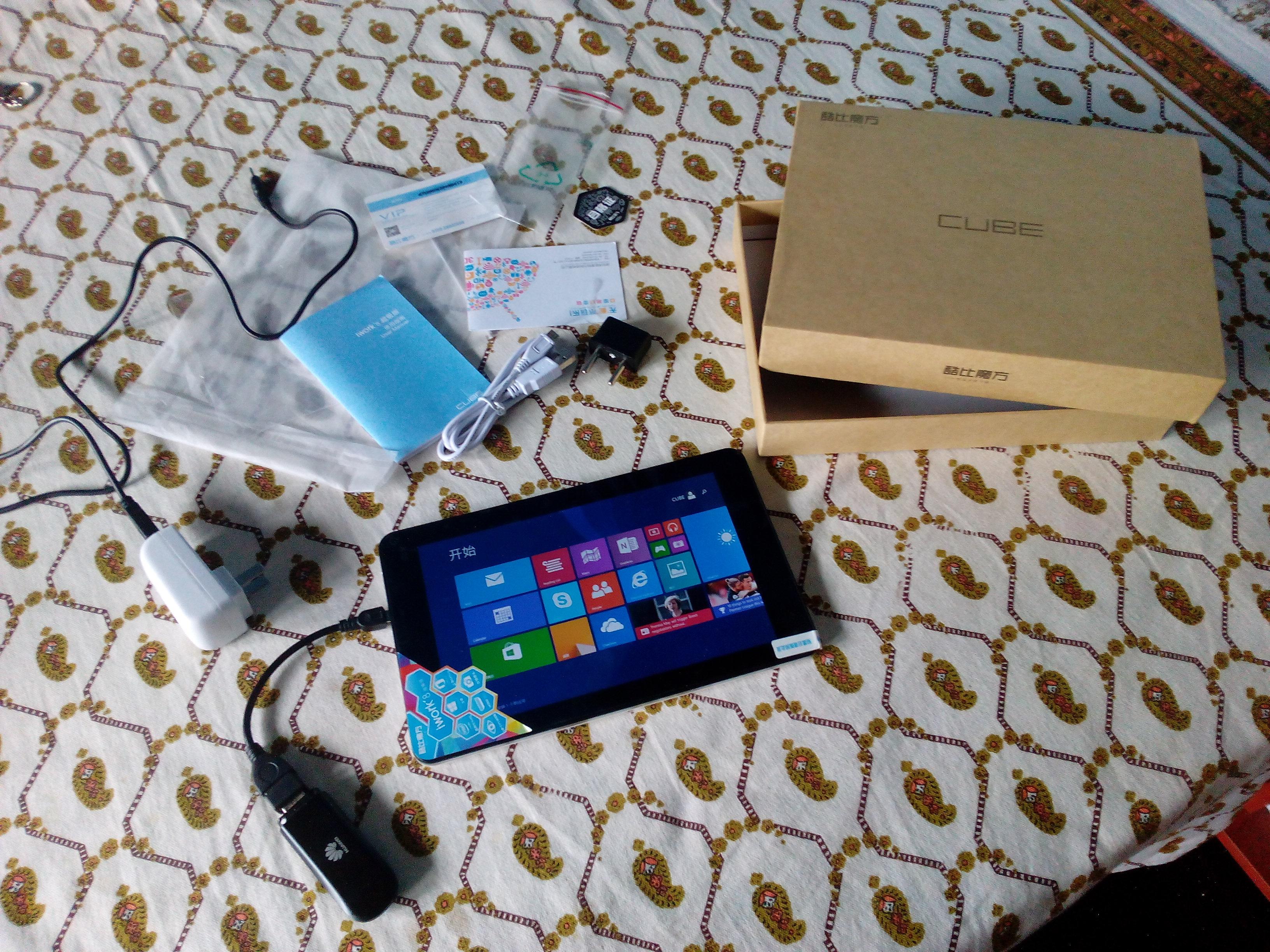 Cube iwork8′ Super Edition Tab Wifi+External 3g